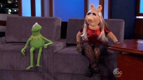 Kermit Miss Piggy Jimmy Kimmel 607 2