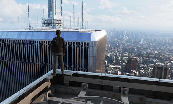 the walk twin towers 607
