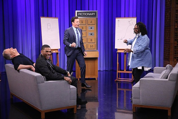 JIMMY FALLON JEFF DANIELS PICTIONARY 607