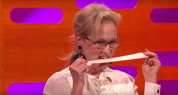 Meryl Streep Graham Norton