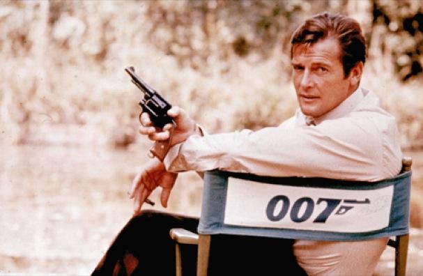 James Bond Roger Moore