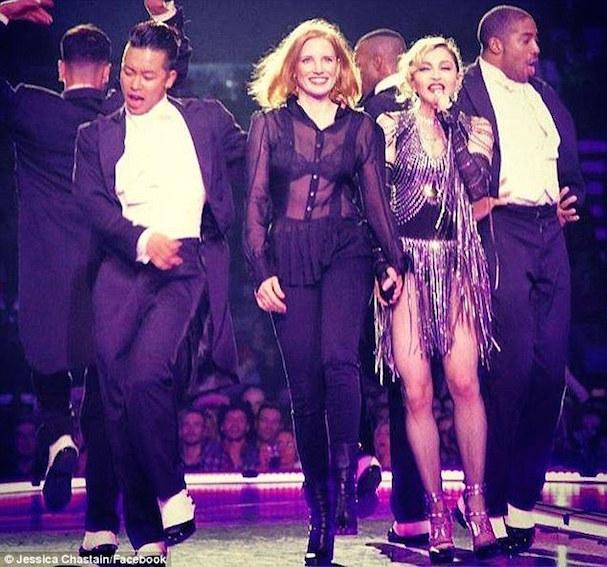 Jessica Chastain Madonna 607 1