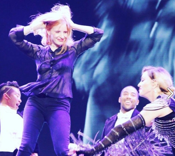 Jessica Chastain Madonna 607 3