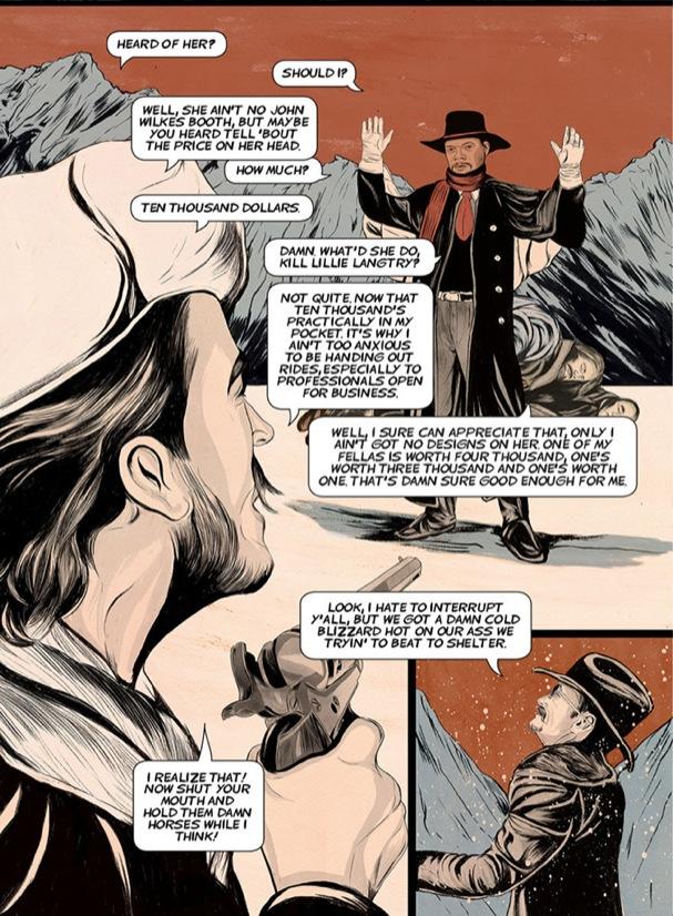 The Hateful Eight Comic