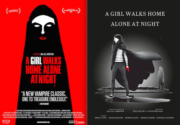 a girl walks home posters 607