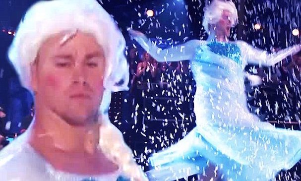 Channing Tatum Frozen Lip Sync 607