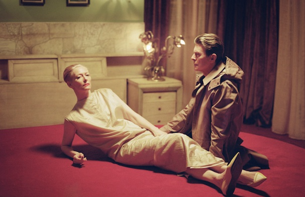 Tilda Swinton David Bowie