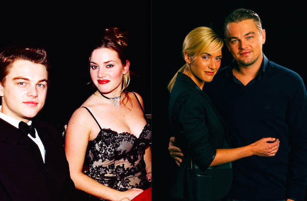 Leonardo Di Caprio and Kate Winslet now and then 607