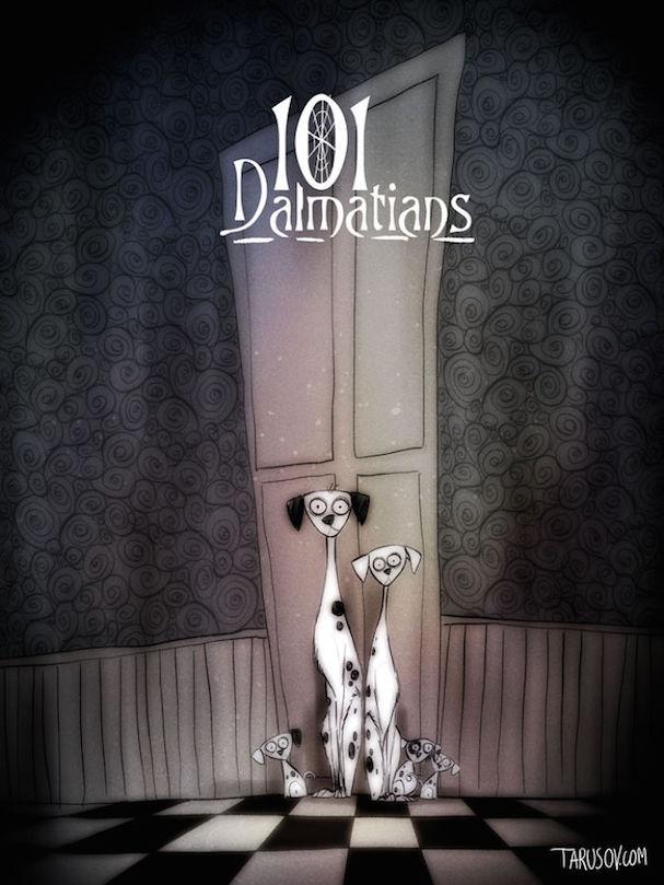 Tim Burton Disney movies 607 7