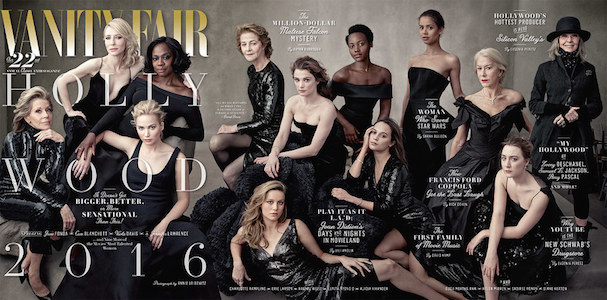 Vanity Fair Hollywood2016 607 cover spread