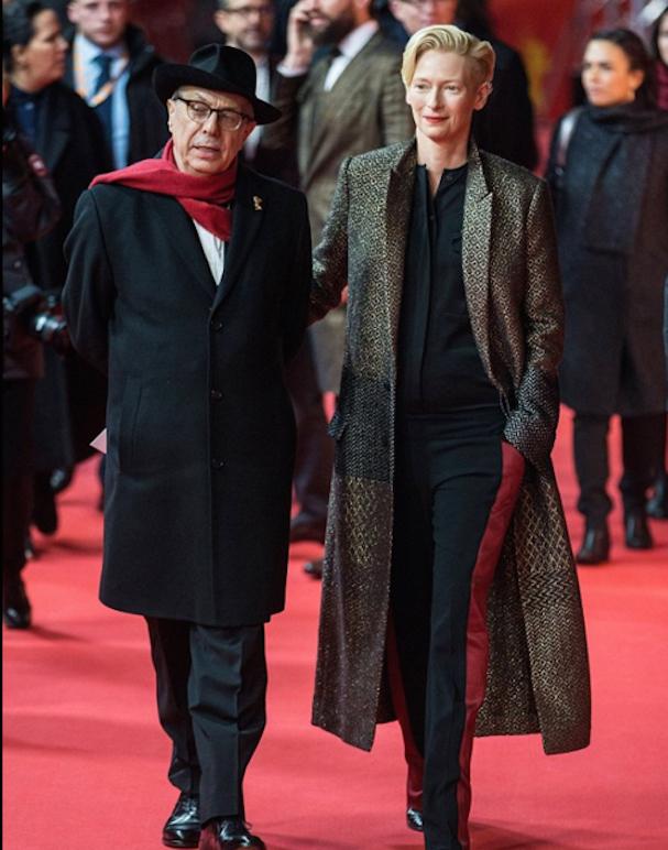 Tilda Swinton David Bowie Berlinale 607 1