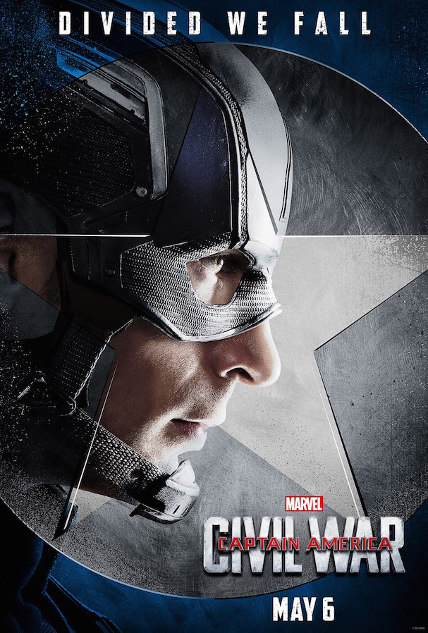 3  Captain America Civil War Character Posters 607