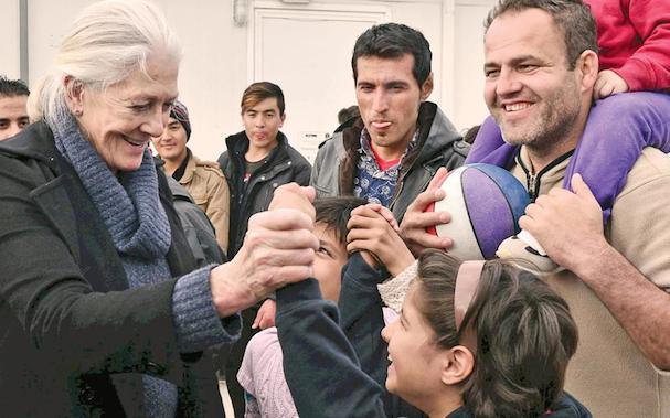 Vanessa Redgrave Refugees