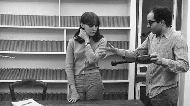 Anne Wiazemsky Jean Luc Godard 607