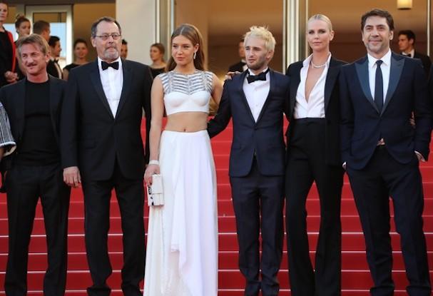 Charlize Theron Sean Penn Cannes 2016