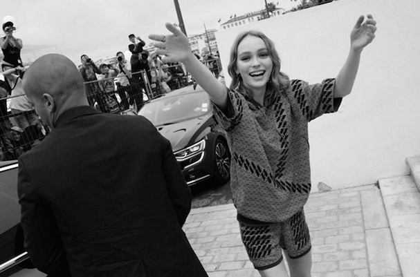 Lilly Rose Depp Cannes 2016 607