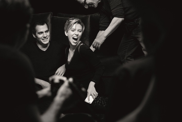607 Scarlett Johansson Henry Cavill Huawei