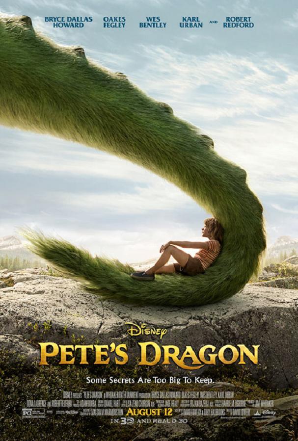Pete's Dragon poster 1