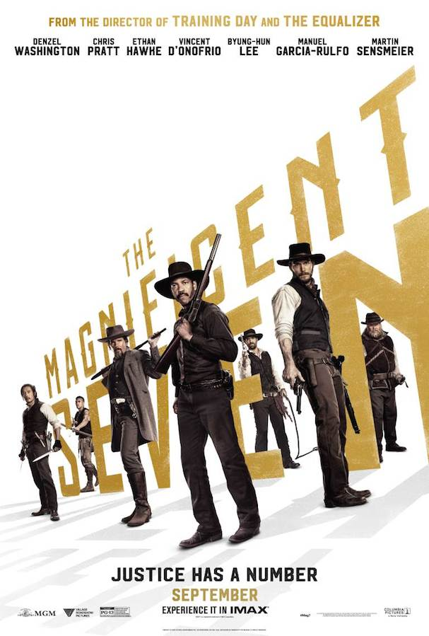 Magnificent Seven Poster 607