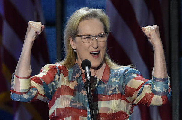 Meryl Streep Hillary speech