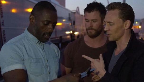 Chris Hemsworth Idris Elba Tom Hiddleston 607
