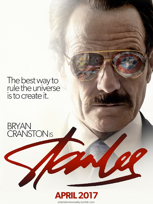 Stan Lee fanmade poster 607