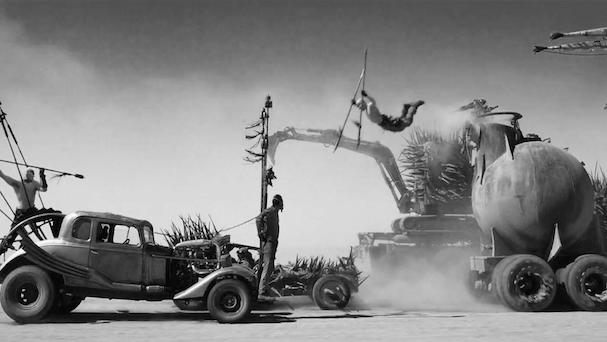 Mad Max black and white 607 2