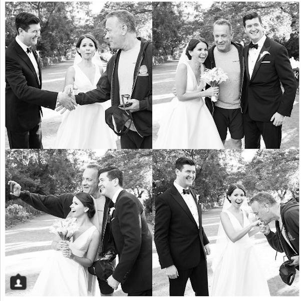 Tom Hanks photobombs wedding 607 2