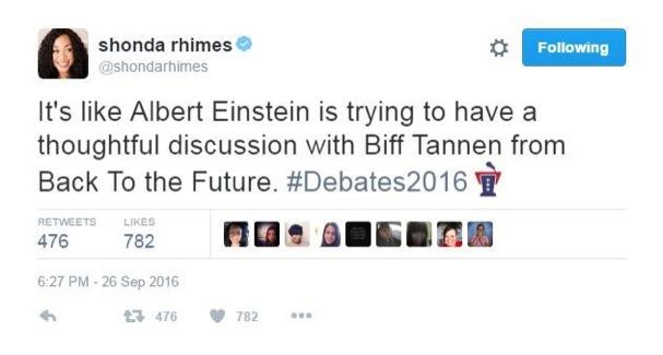 Presidential Debate Tweets 607