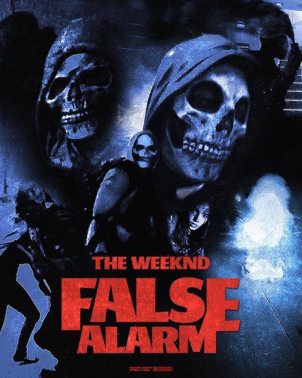 weeknd false alarm 607