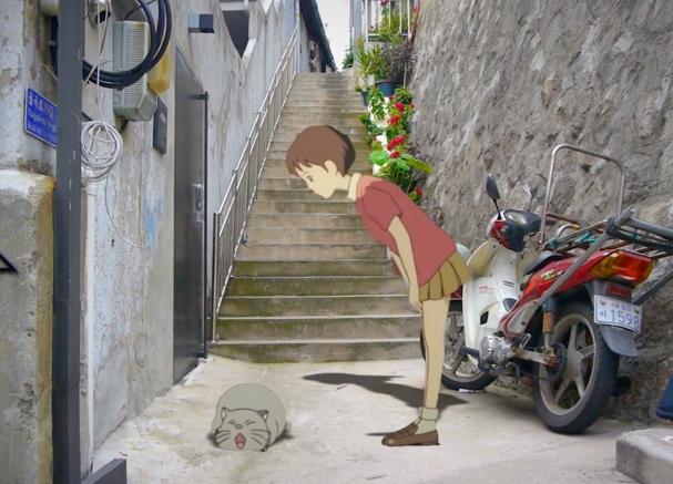 Studio Ghibli in Real Life 607