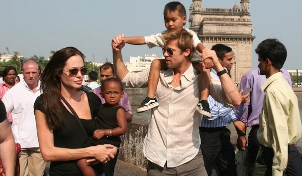 Brad Pitt Children