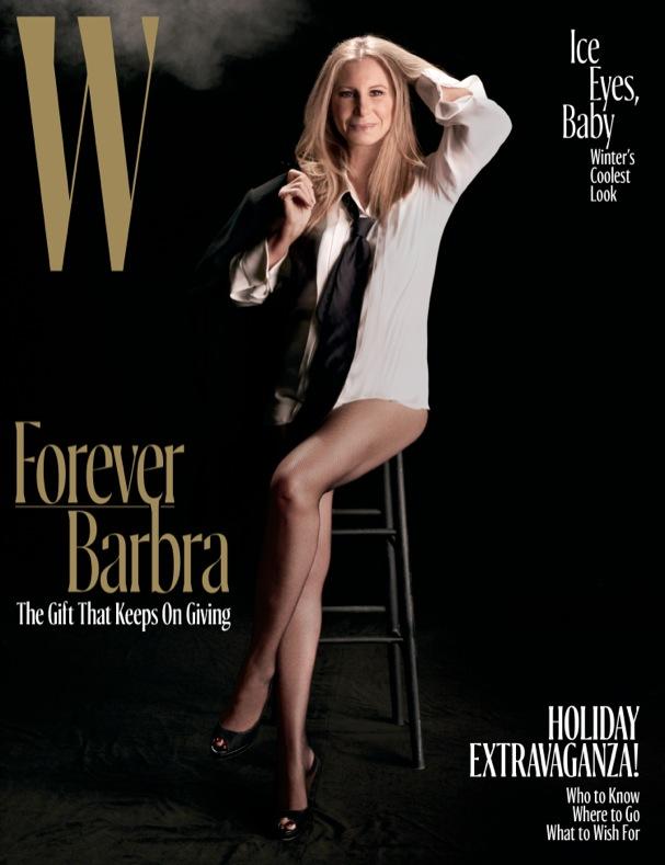 Barbra Streisand W Mag