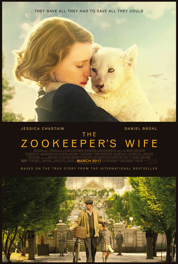 zookeeper's wife poster 607