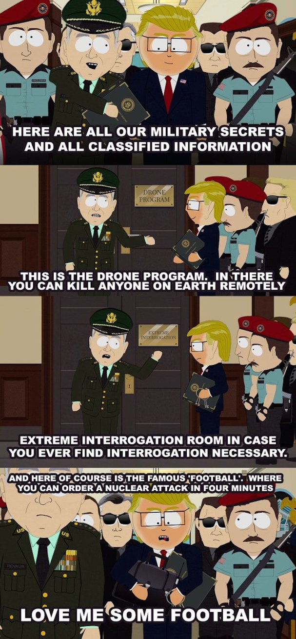 South Park Trump