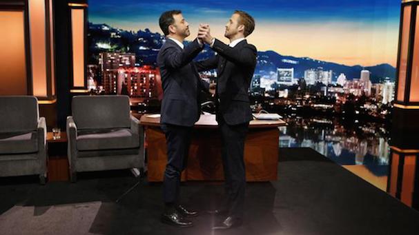 Ryan Gosling Jimmy Kimmel waltz 607