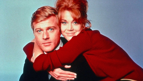 Robert Redford Jane Fonda together again 607 1