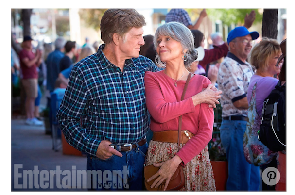 Robert Redford Jane Fonda together again 607