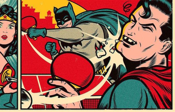 New Yorker Batman v Superman 607