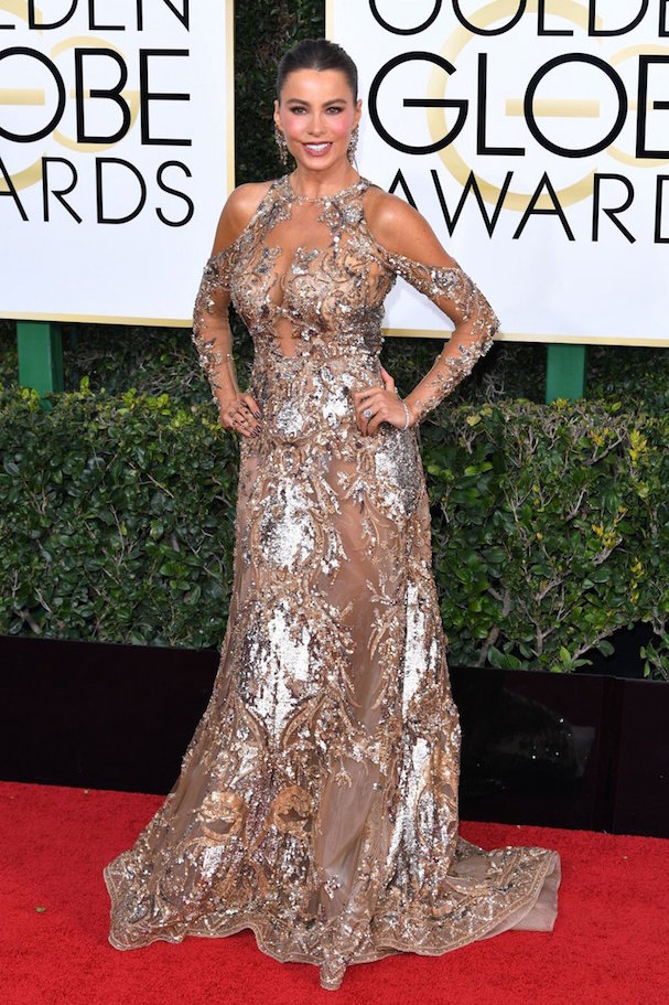 Sofia Vergara Golden Globes 607