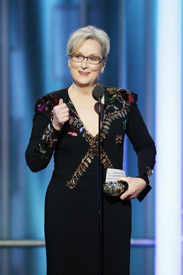 Meryl Streep Golden Globes 607