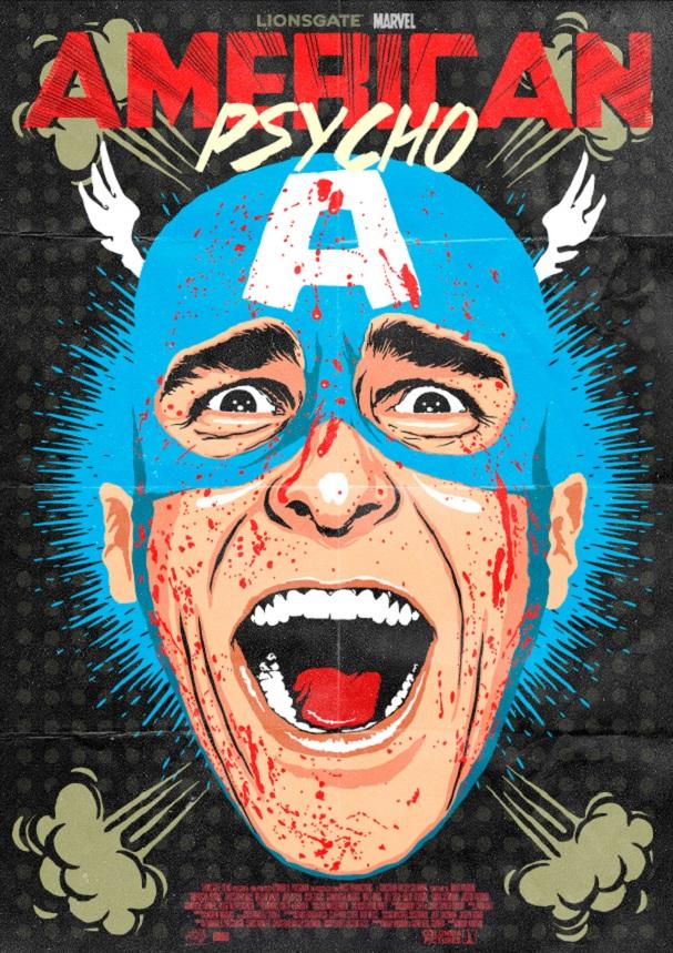 American Psycho Captain America 607