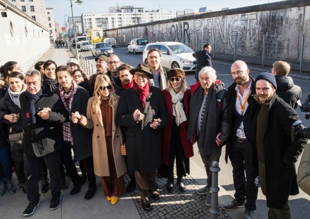 Diego Luna Berlin Wall