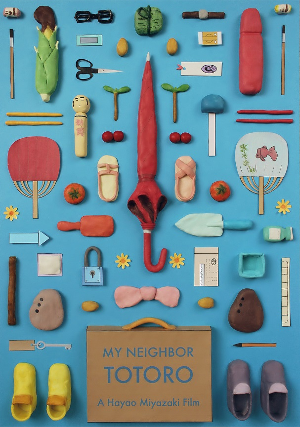 My neighbor Totoro Objects Poster 607