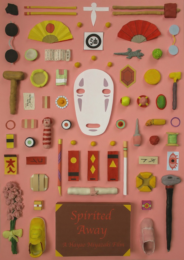 Spirited Away Objects Poster 607