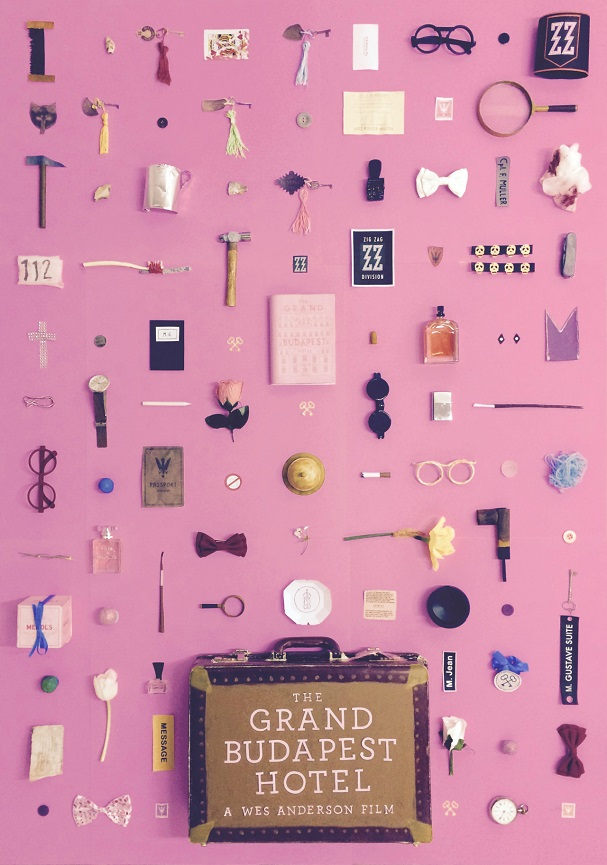 The Grand Budapest Hotel Objects Poster 607
