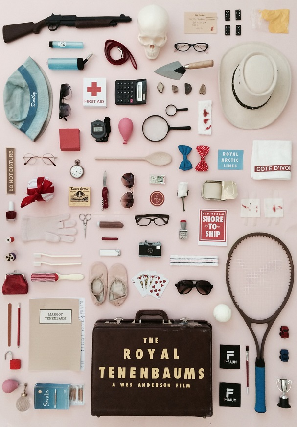 The Royal Tenenbaums Objects Poster 607