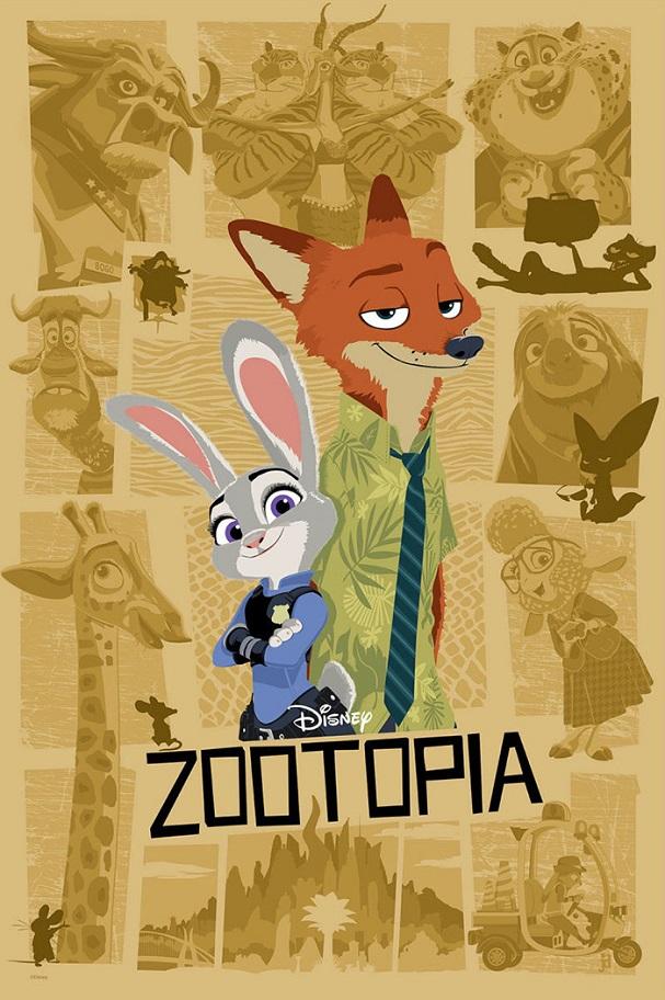 Zootopia Poster 607