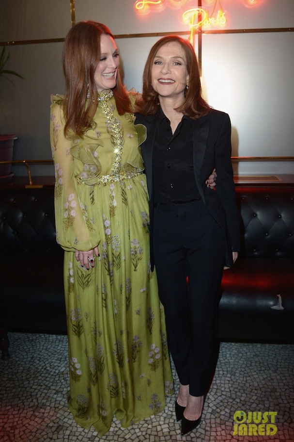 Julianne Moore Isabelle Huppert