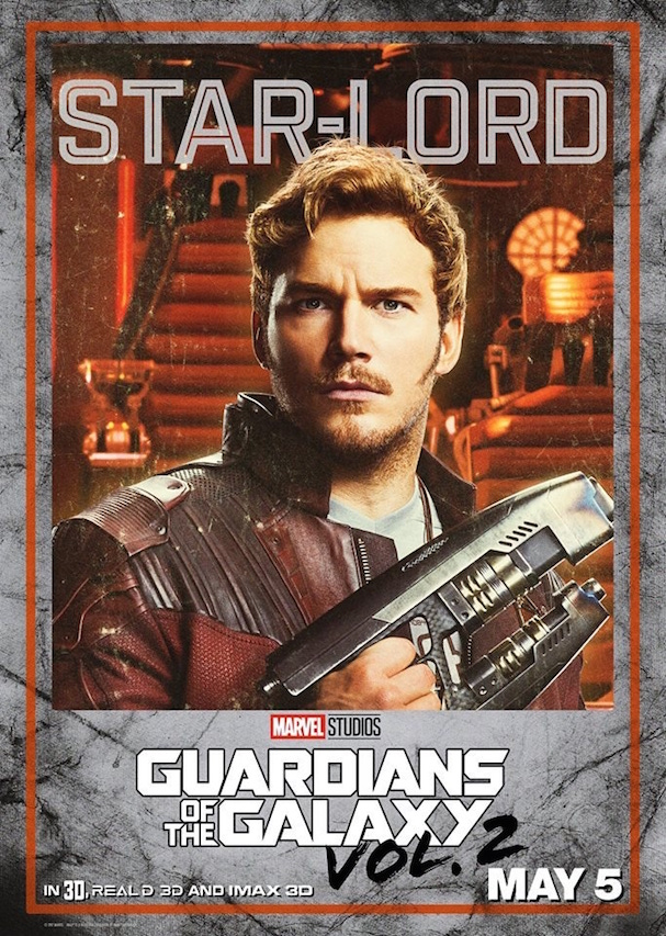 Guardians 2 Character posters 607 1